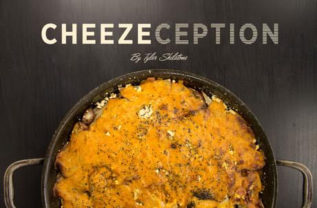 Creamy Chia Cheeze Potato Gratin – aka 'Cheeze-Ception'
