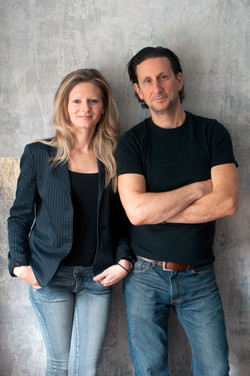 CHEFS KATE JACOBY AND RICH LANDAU