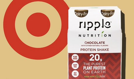 Ripple Debuts New Vegan Protein Line at Targets Nationwide