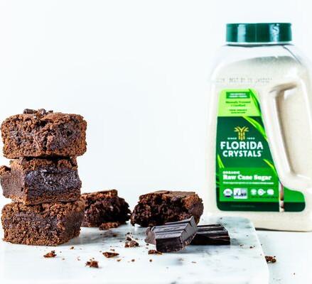 Recipe: One-bowl Vegan Brownies by Florida Crystals®