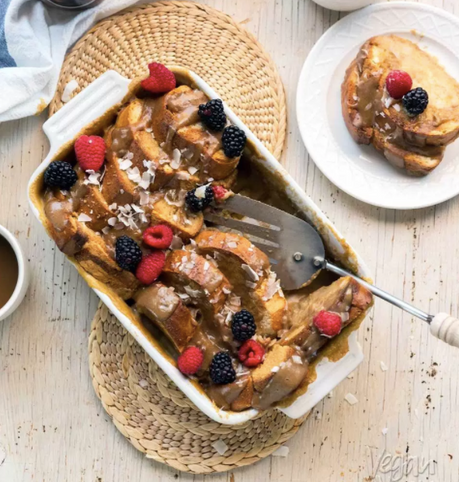 Salted Caramel French Toast Casserole