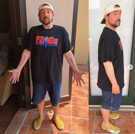 Director Kevin Smith Credits Veganism for Post-Heart Attack Weight Loss