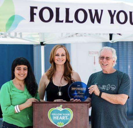 Follow Your Heart Is Zero Waste Certified: Boom!