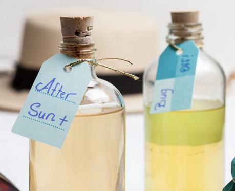 Healthy Sun Care & After Sun Spray Recipe