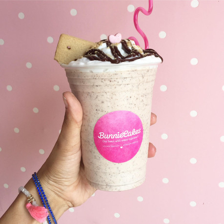 Try the S'mores Vegan Milkshake at Bunnie Cakes