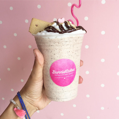 Try the S'mores Vegan Milkshake at Bunnie Cakes
