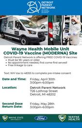 Wayne Health Mobile Unit