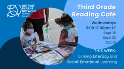 Third Grade Reading Cafe - Twitter Landscape Size