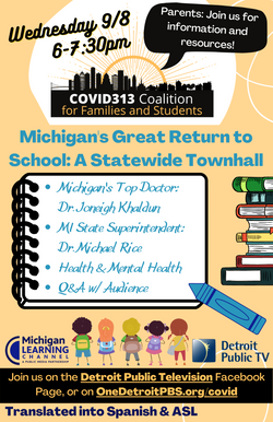 Michigan Great Return to Learn Townhall