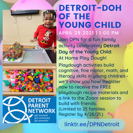"""Detroit-""""Doh"""" of the Young Child"""