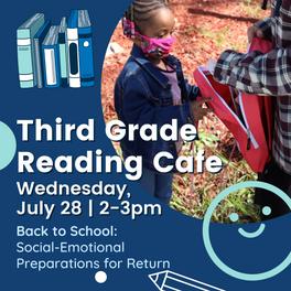 Third Grade Reading Café