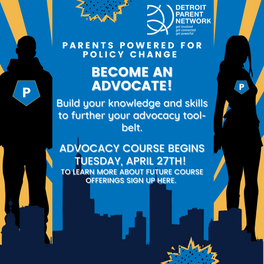 Parents Powered for Policy Change