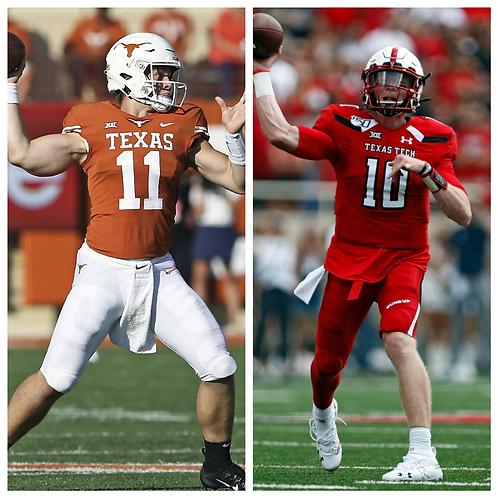 Texas vs Texas Tech - 9/26/20