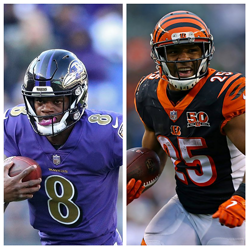 Ravens vs Bengals - 1/3/21