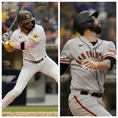 Padres vs Giants - 5/8/21