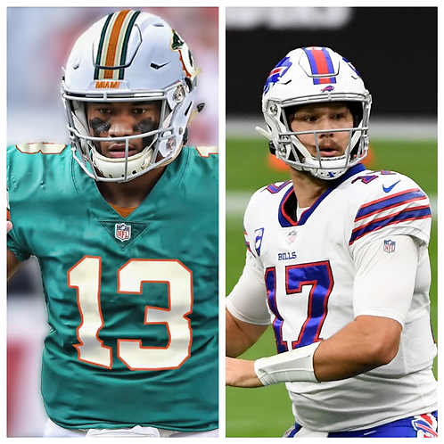 Dolphins vs Bills - 1/3/21