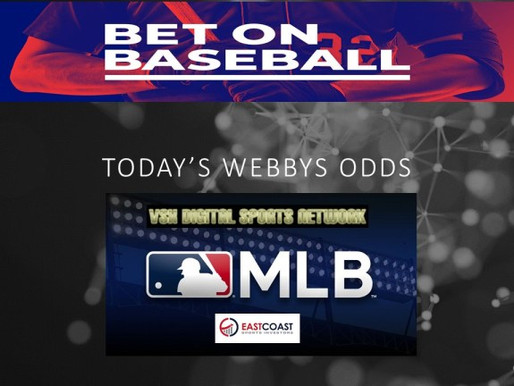 WEBBIE ODDS AND NOTES 05/25