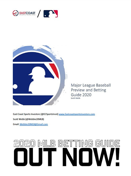 2020 MLB BETTING GUIDE!