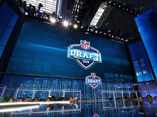 THE NFL DRAFT IS STILL ON SCHEDULE!
