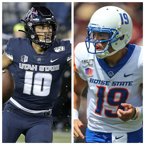 Utah State vs Boise State  - 10/24/20