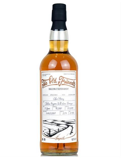 The Old Friends Whisky Single Malt Glen Moray