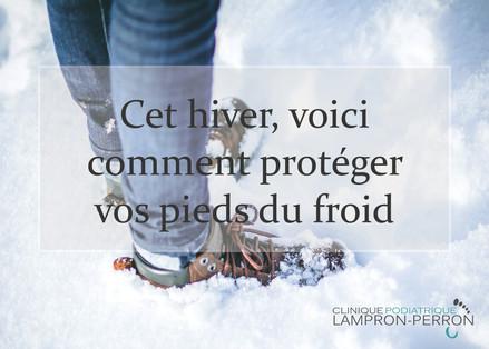 Comment protéger vos pieds du froid