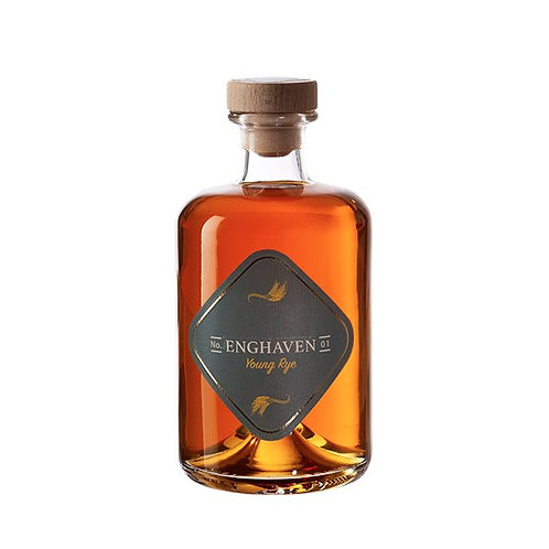 ENGHAVEN YOUNG RYE  No. 1, 50 cl. - 42,5%