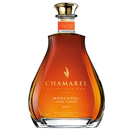 CHAMAREL XO MOSCATEL CASK FINISH RUM 45% 70 cl.