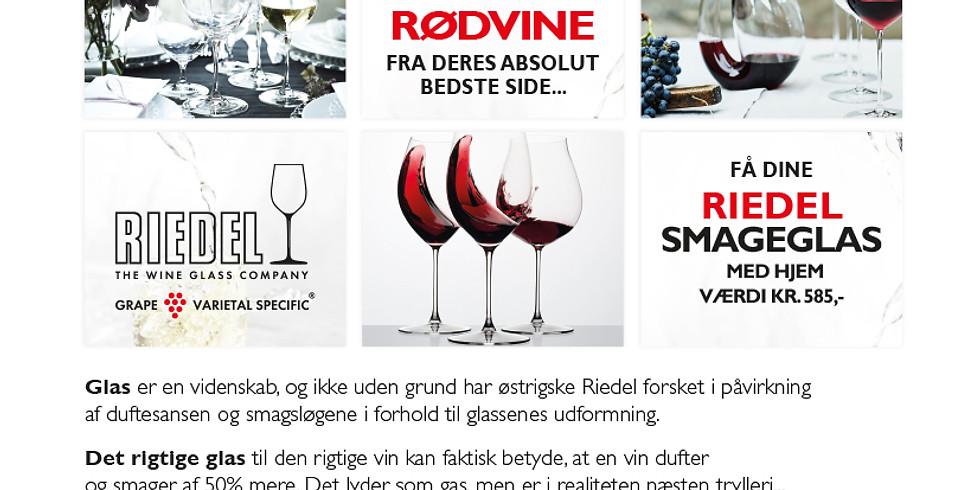 Riedel Glassmagning (Begrænset billetter tilbage)