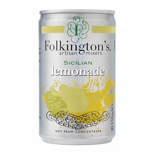 Folkington's Sicilian Lemonade  8 x 150ml.