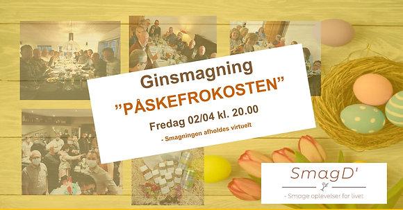 """Ginsmagning 02/04 kl. 20.00 """"PÅSKEFROKOSTEN"""""""