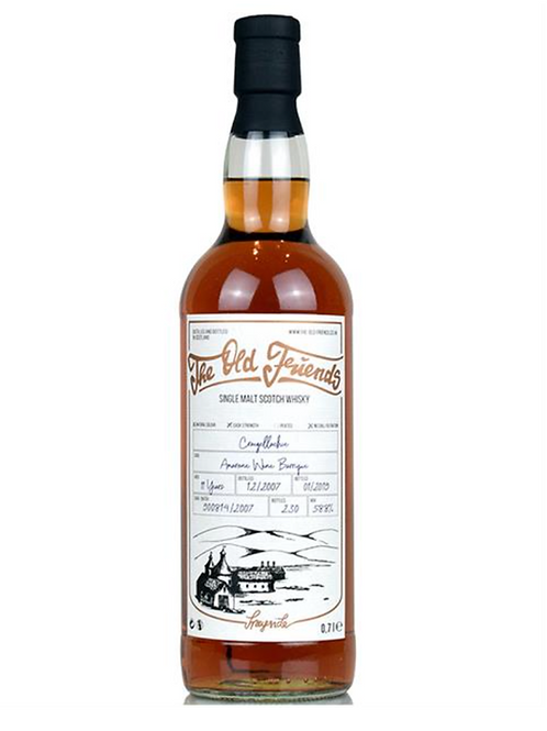 The Old Friends Whisky Single Malt Craigellachie