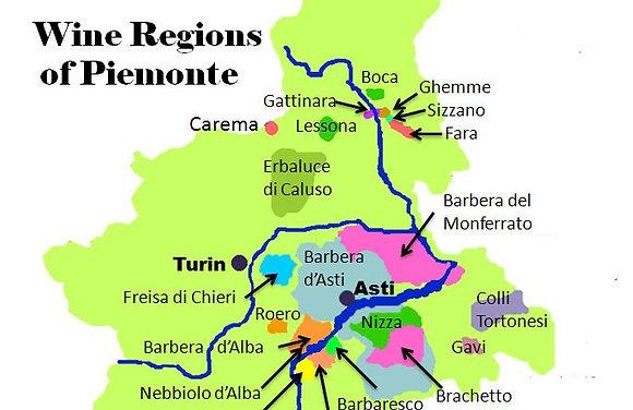 Piemonte vinsmagning 26/03