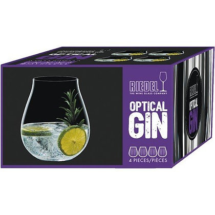 RIEDEL OPTICAL O GIN GLAS 4 STK.