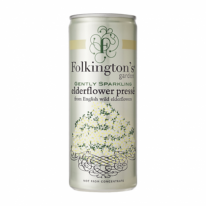 Folkingtons's Elderfower 25 cl. dåse