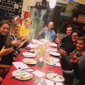 Rom og tapas aften for en personale forening.