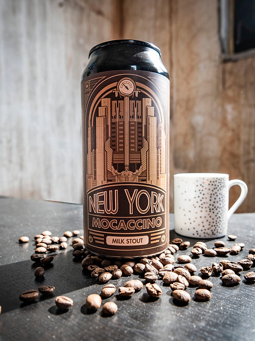 Mad Scientist New York Moccacino 44 cl.