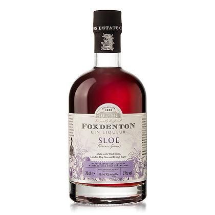 FOXDENTON SLOE GIN 27% 50 CL.