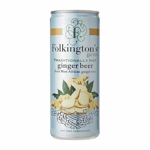 Folkington's Ginger Beer 25 cl. dåse