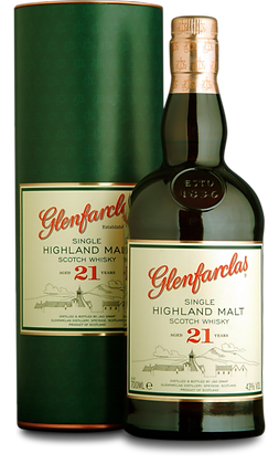 GLENFARCLAS SINGLE HIGHLAND MALT 21 år
