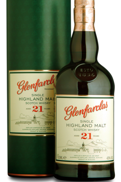 GLENFARCLAS SINGLE HIGHLAND MALT 21 år
