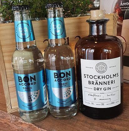 STOCKHOLM BRÄNNERI STOCKHOLM DRY GIN 50 cl. 40%