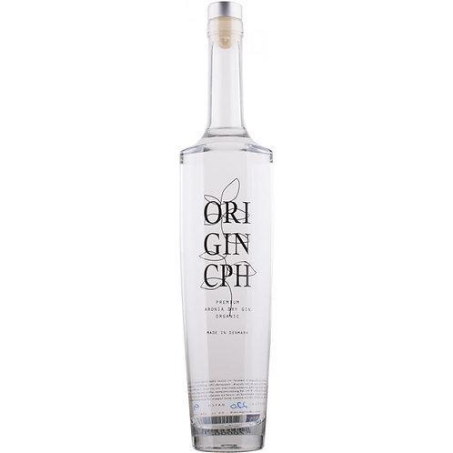 ORIGIN CPH, Dansk Premium Dry ORGANIC ARONIA Gin 43% 50CL