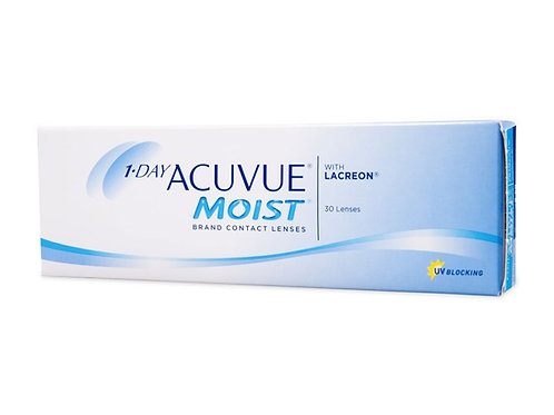 1 Day Acuvue Moist  (30 линз) контактные линзы