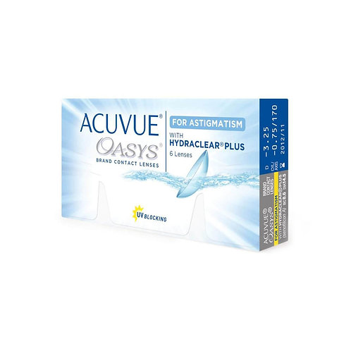 Acuvue Oasys for Astigmatism (6 линз) контактные линзы