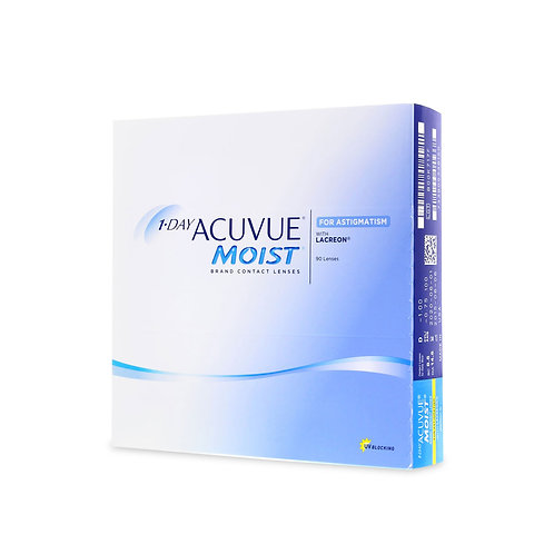 1-Day Acuvue Moist for Astigmatism  (90 линз) контактные линзы