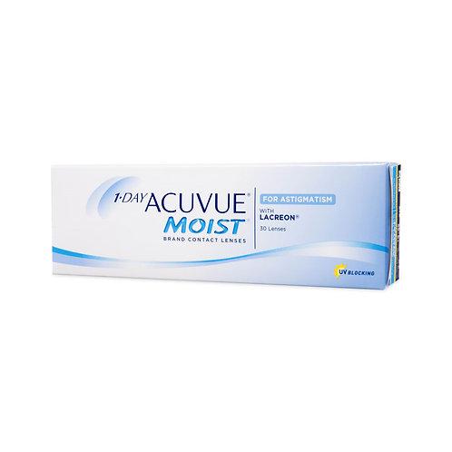 1-Day Acuvue Moist for Astigmatism  (30 линз) контактные линзы