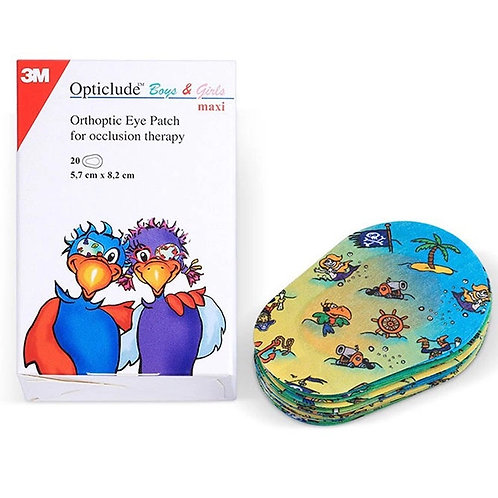 Лейкопластырь Opticlude 2539PE «Глазной детский пластырь»