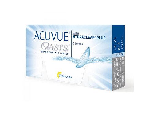 Acuvue Oasys with HYDRACLEAR  (6 линз) контактные линз