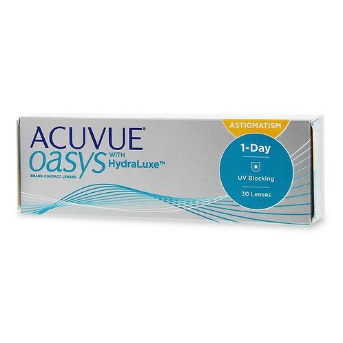 Acuvue Oasys 1-Day for Astigmatism  (30 линз) контактные линзы